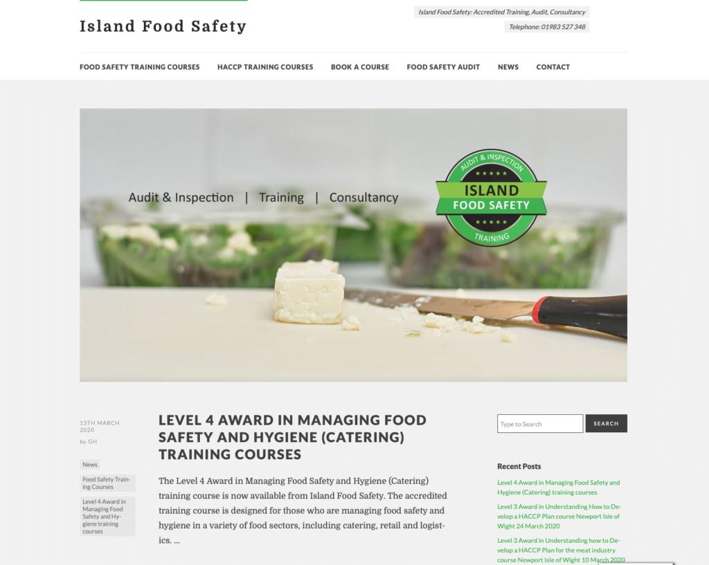 Island Food Safety