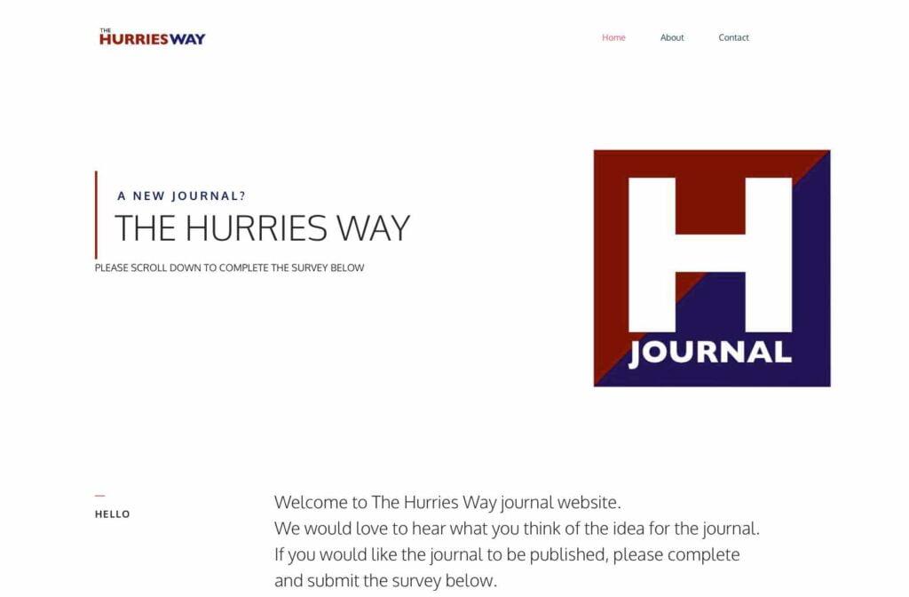 Hurries Way Journal